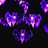20 LED 7.9ft  Battery Operated Bat Lights String for Patio Garden Fairy String Lights 6M/Christmas Decoration Item Code:30BAPLBA